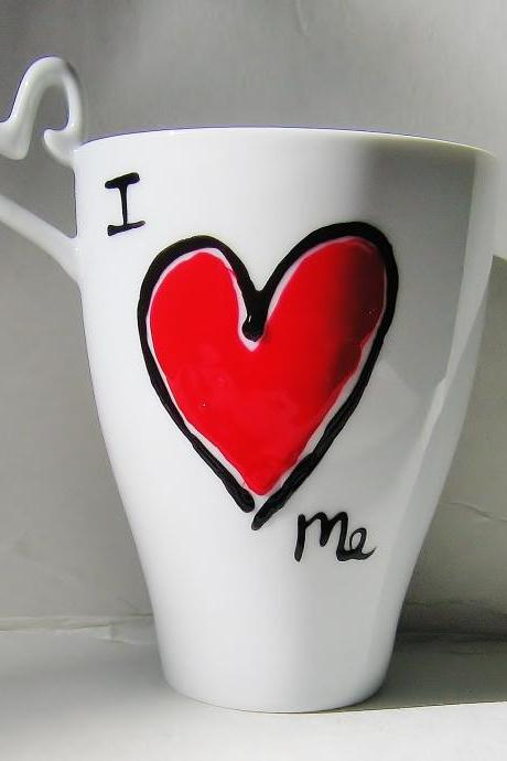 Personalized Coffee Mug Gift, I Love You Mothers Day Gift