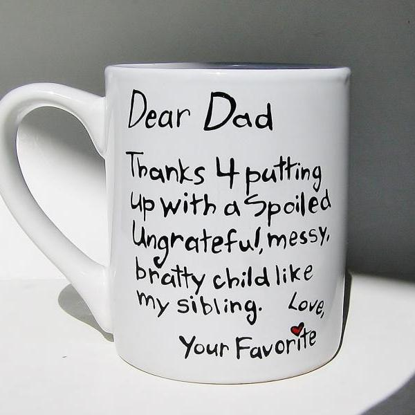 Coffee Mug Gift for Dad, Birthday Gift Idea